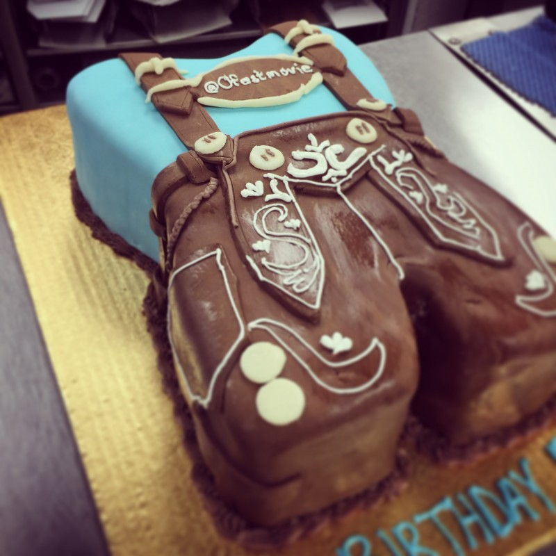 Decorated cake for Oktoberfest