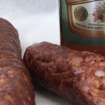 local sausage and european beer at Alpine Market Torrance