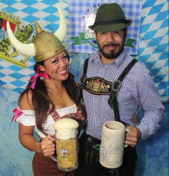 Oktoberfest Photo Booth Pics Friday 10/23